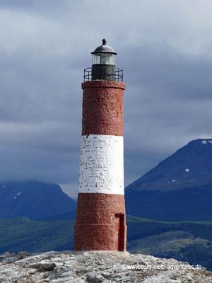 Argentinien - Leuchtturm Les Éclaireurs im Beagle Kanal