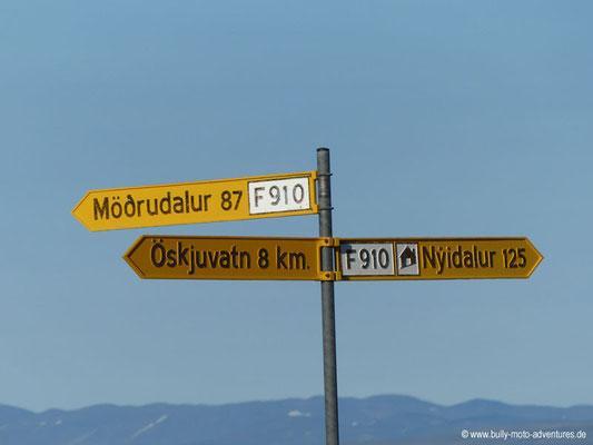 Island - Kreuzung bei Dreki
