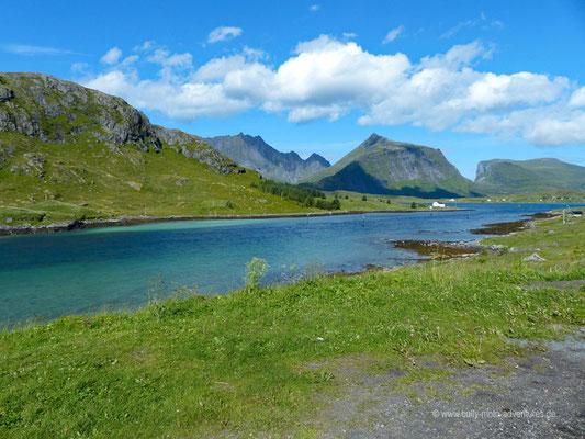 Norwegen - Straße E10 - Landschaftsroute Lofoten