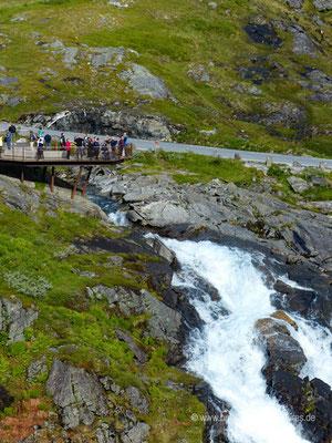 Norwegen - Straße 63 - Landschaftsroute Geiranger-Trollstigen - Trollstigen