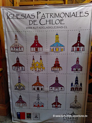 Chile - Insel Chiloé - Ancud - Museo de las Iglesias de Chiloé