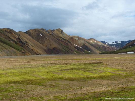 Island - Landmannalaugar - Bunte Rhyolithberge