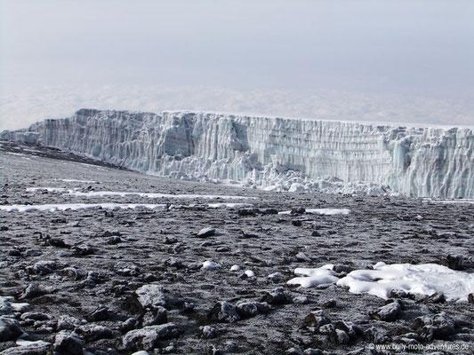 Tansania - Kilimanjaro - Marangu Route - Uhuru Peak - Gletscher