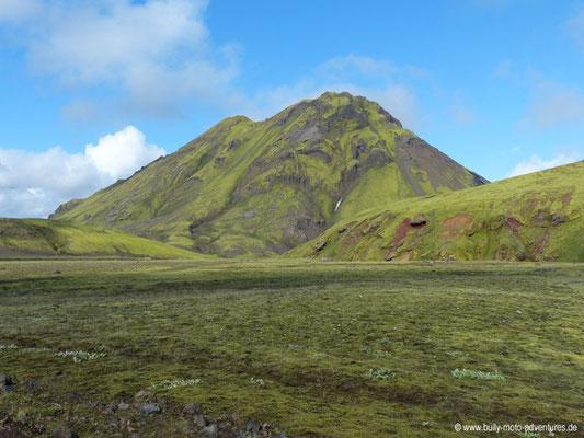 Island - Laugavegur - hinter Hvanngil