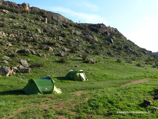 Mongolei - Gesteinsformation Baga Gazryn Chuluu