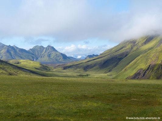 Island - Laugavegur - hinter Álftavatn