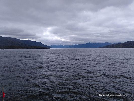 Chile - Fährfahrt von Puerto Natales nach Puerto Montt - Tag 3