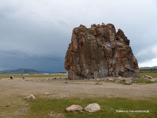 Mongolei - Felsformation Taikhar Chuluu
