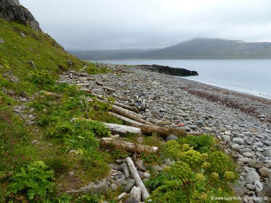 Island - Hornstrandir - Etappe 2 - Hornvík über Hornbjarg nach Hornvík
