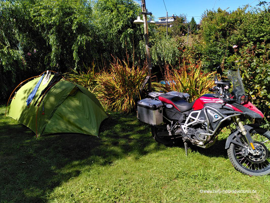 Chile - Puerto Octay - Camping