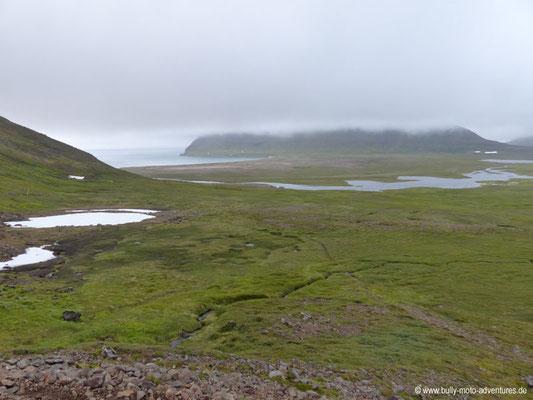 Island - Hornstrandir - Etappe 6 - Hesteyri über Látravík nach Hesteyri - Blick auf Látravík