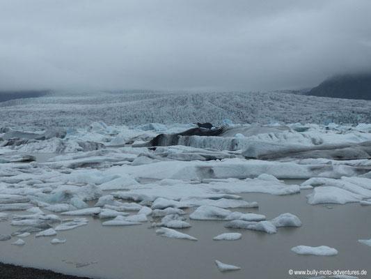 Island - Gletscherlagune Fjallsárlón