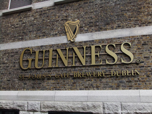 Irland - St. Jame's Gate Brewery - Dublin - Co. Dublin