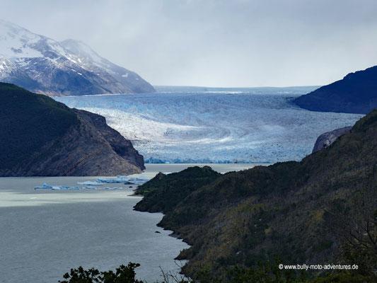 Chile - Parque Nacional Torres del Paine - W-Trek - Grey Gletscher