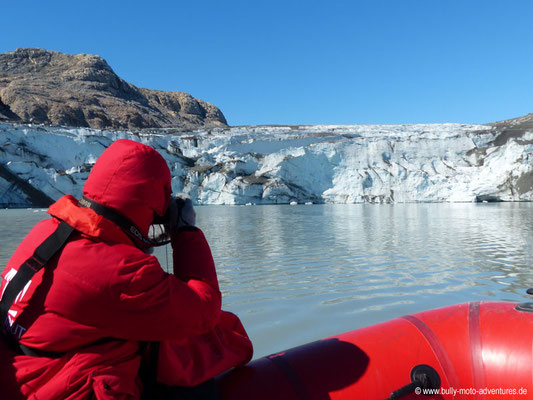 Grönland - Gletscher Qalerallit