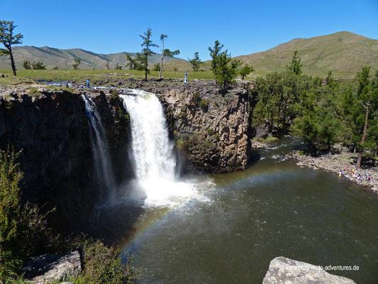 Wasserfall Orkhon Khürkhree