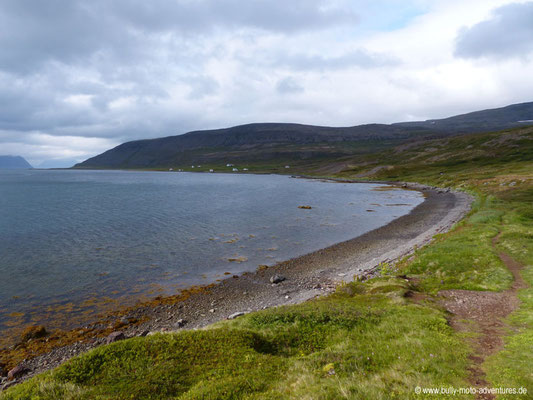 Island - Hornstrandir - Blick auf Hesteyri