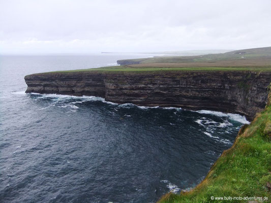 Irland - Steilküste bei Céide Fields - Co. Mayo
