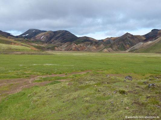 Island - Laugavegur - Etappe 1 - Landmannalaugar nach Hrafntinnusker