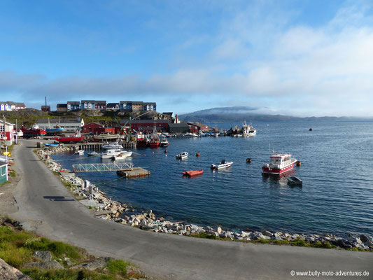 Grönland - Hafen von Qarqotoq