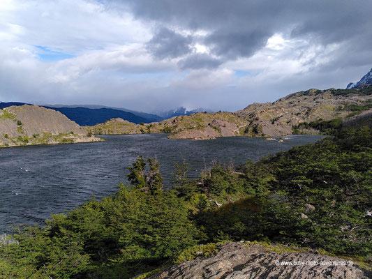 hile - Parque Nacional Torres del Paine - W-Trek - Wanderung zum Grey Gletscher - Laguna Los Patos