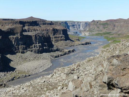 Island - Wasserfall Dettifoss