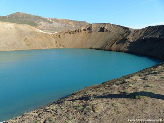 Island - Vulkansystem Krafla - Explosionskrater Stóra-Víti