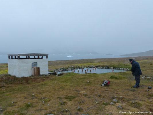 Grönland - die heißen Quellen von Uunartoq