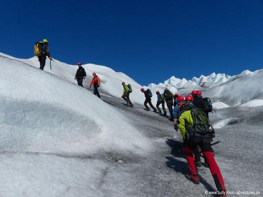Gletscherwanderung auf dem Qalerallit Gletscher