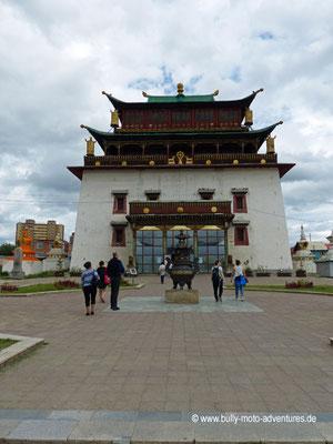Mongolei - Ulaanbaatar - Kloster Gandan Khiid