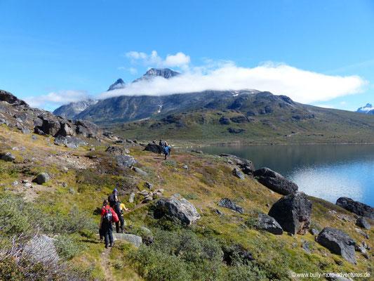 Grönland - Wanderung von Tasiusaq nach Nuugaarsuk - Alpine Landschaft