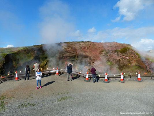 Island - Sturlureyki Hof - heiße Quelle