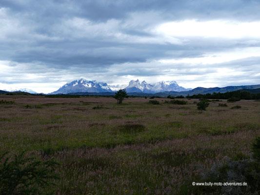 Chile - Camping Río Serrano - Vor den Toren de Parque Nacional Torres del Paine