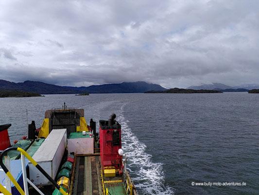 Chile - Fährfahrt von Puerto Natales nach Puerto Montt - Tag 2