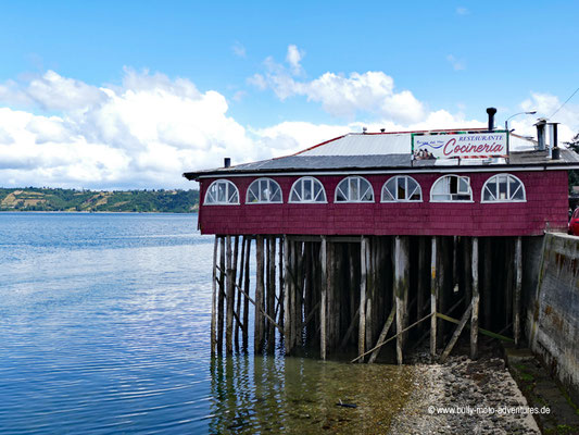 Chile - Insel Chiloé - Castro - Pfahlbauten