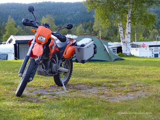 Norwegen - Campingplatz nahe Steinkjer