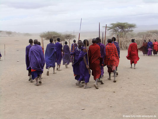 Tansania - Ngorongoro Conservation Area - Massai
