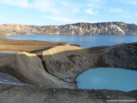 Island - Askja-Krater - Víti und Öskjuvatn