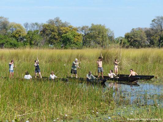 Botswana - Okavango Delta - Mokoro Olympiade