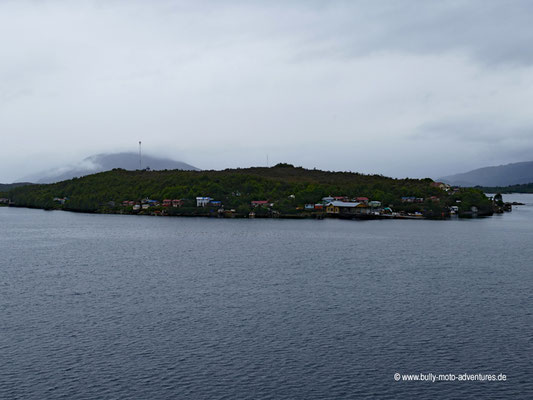 Chile - Fährfahrt von Puerto Natales nach Puerto Montt - Tag 2 - Puerto Edén