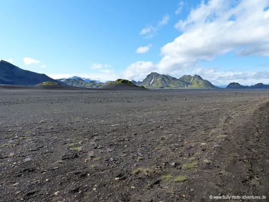 Island - Laugavegur - Etappe 3 - Álftavatn nach Emstrur