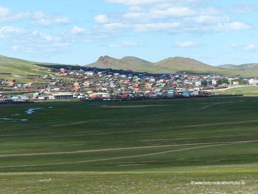 Mongolei - Blick auf Khurjit