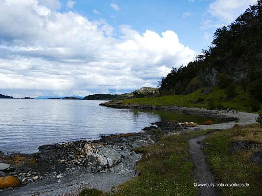 Argentinien - Parque Nacional Tierra del Fuego - Wanderweg Costera Trail