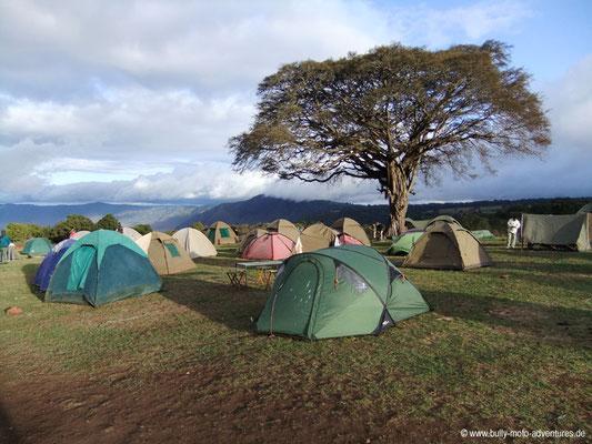 Tansania - Safari-Tour - Simba Campsite (Ngorongoro Krater)