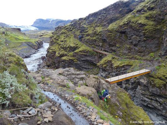 Island - Laugavegur - Brücke über Fremri-Emstruá