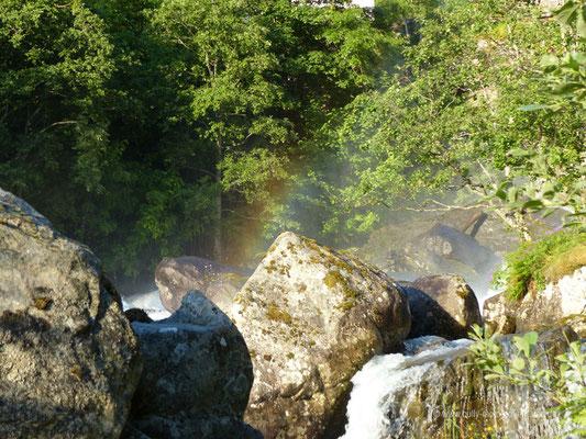 Norwegen - Wasserfall in Geiranger
