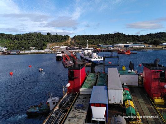 Chile - Fährfahrt von Puerto Natales nach Puerto Montt - Tag 4 - Ankunft