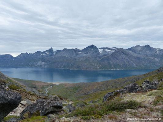 Grönland - Tasermiut Fjord - Blick auf den Fjord