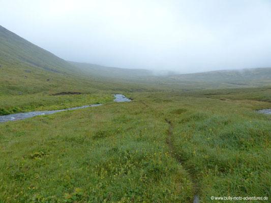Island - Hornstrandir - Pfad nach Hesteyri
