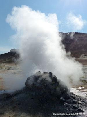 Island - Geothermalfeld Hverir